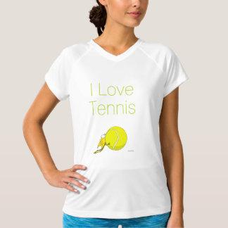 I love Tennis! Kitten chewy Tennisball T-Shirt
