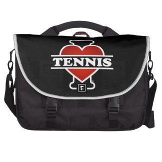 I Love Tennis Commuter Bags