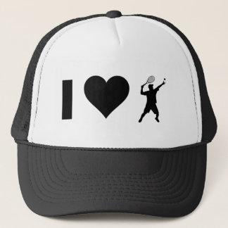 I Love Tennis (Male) Trucker Hat