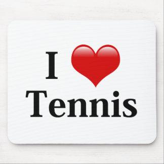 I Love Tennis Mouse Mat