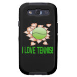 I Love Tennis.png Samsung Galaxy S3 Cover