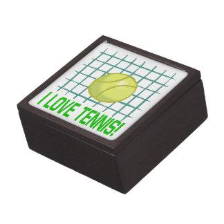 I Love Tennis Premium Trinket Boxes