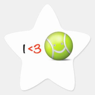 I love tennis star sticker