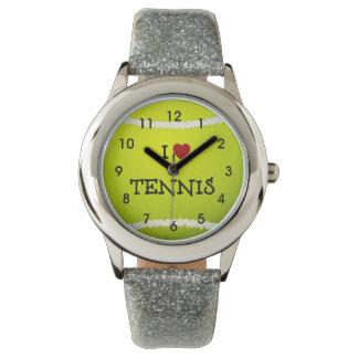 I Love Tennis - Tennis Ball Watch
