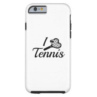 I Love Tennis Tough iPhone 6 Case