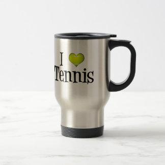 I Love Tennis Travel Mug