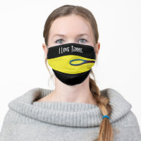 I Love Tennis with racket and tennis ball Cloth Face Mask