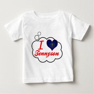 I Love Tennyson, Indiana Baby T-Shirt