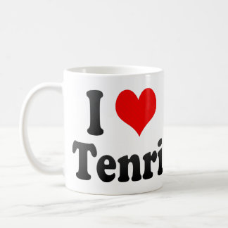I Love Tenri, Japan Classic White Coffee Mug