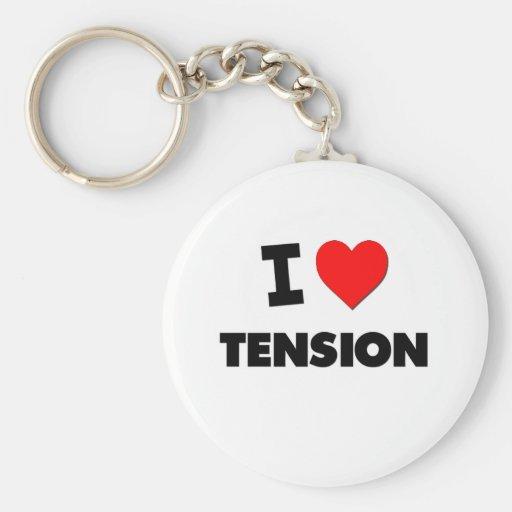 I love Tension Key Chains
