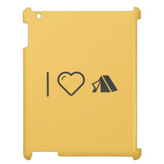 I Love Tents Case For The iPad 2 3 4