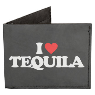 I LOVE TEQUILA BILLFOLD WALLET