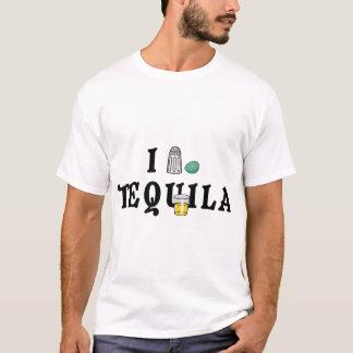 I Love Tequila Ladies T-Shirt