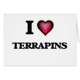 I Love Terrapins Card