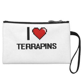 I love Terrapins Digital Design Wristlet Clutch