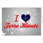 I Love Terre Haute, Indiana Cards