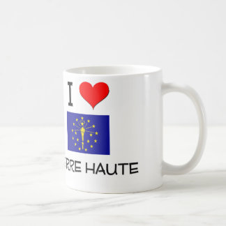 I Love TERRE HAUTE Indiana Classic White Coffee Mug