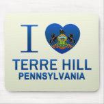 I Love Terre Hill, PA Mouse Pad