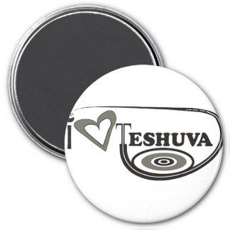 I Love Teshuva 3 Inch Round Magnet