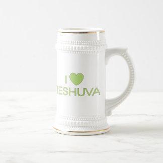 I Love Teshuva Beer Stein