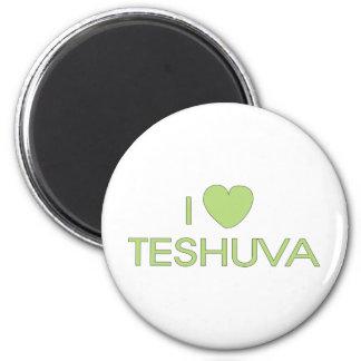 I Love Teshuva 2 Inch Round Magnet