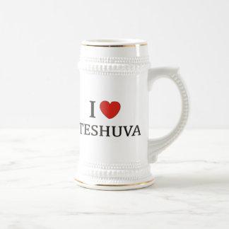 I LOVE TESHUVA NY 18 OZ BEER STEIN