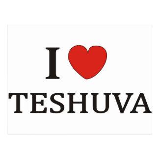 I Love Teshuva Postcard