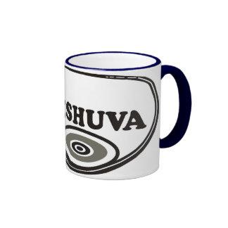I Love Teshuva Ringer Coffee Mug