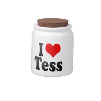 I love Tess Candy Jars