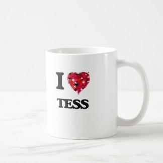 I Love Tess Classic White Coffee Mug