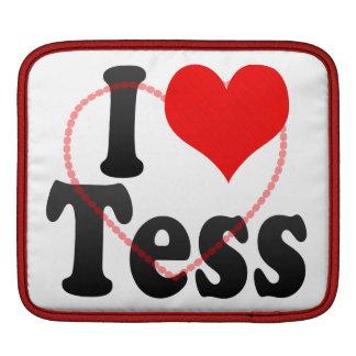I love Tess iPad Sleeves