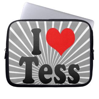 I love Tess Computer Sleeves