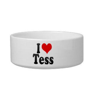 I love Tess Pet Bowl