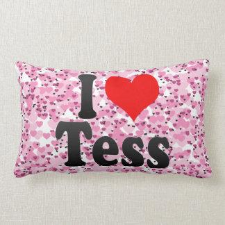 I love Tess Throw Pillows