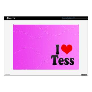I love Tess Laptop Decal