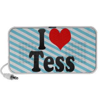 I love Tess iPod Speaker