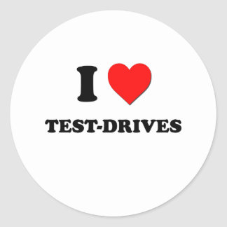 I love Test-Drives Stickers