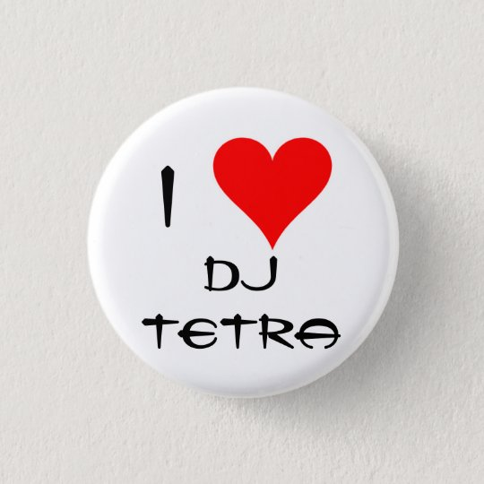 I Love Tetra Button