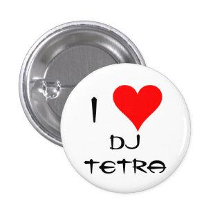 I Love Tetra Button