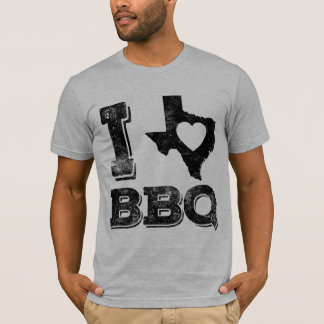 I Love Texas BBQ 2 T-Shirt