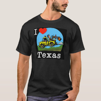 I Love Texas Country Taxi T-Shirt