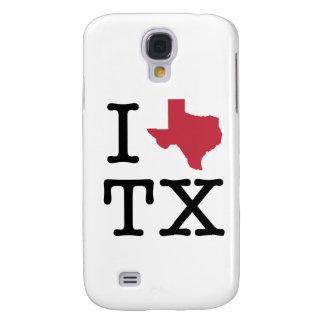 I Love texas Samsung Galaxy S4 Cover