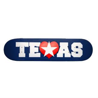 I Love Texas Skateboard Deck