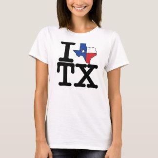 I love Texas t-shirt. T-Shirt