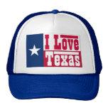 I Love Texas Trucker Hat