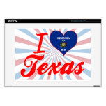 I Love Texas, Wisconsin Laptop Skins
