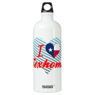 I Love Texhoma, Texas SIGG Traveler 1.0L Water Bottle