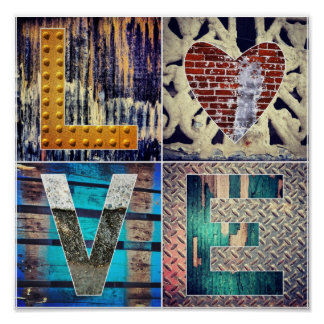 I Love Texture! Poster