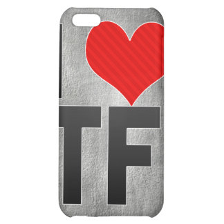 I Love TF Case For iPhone 5C