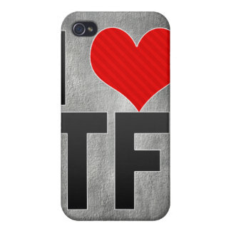 I Love TF iPhone 4/4S Covers